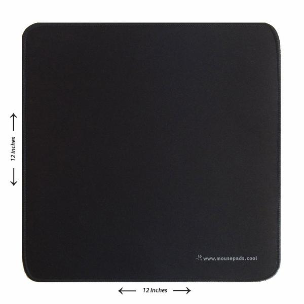 1 Foot Black Giant Mouse Pad