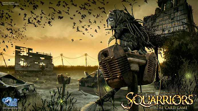 Squarriors The Card Game Playmat