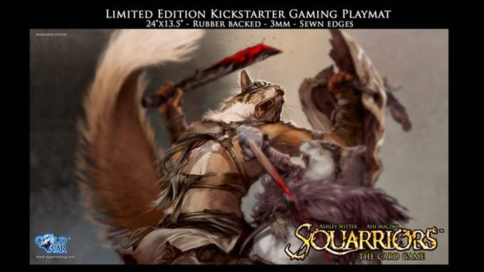 Squarriors: The Card Game - Custom Pad-Zilla®